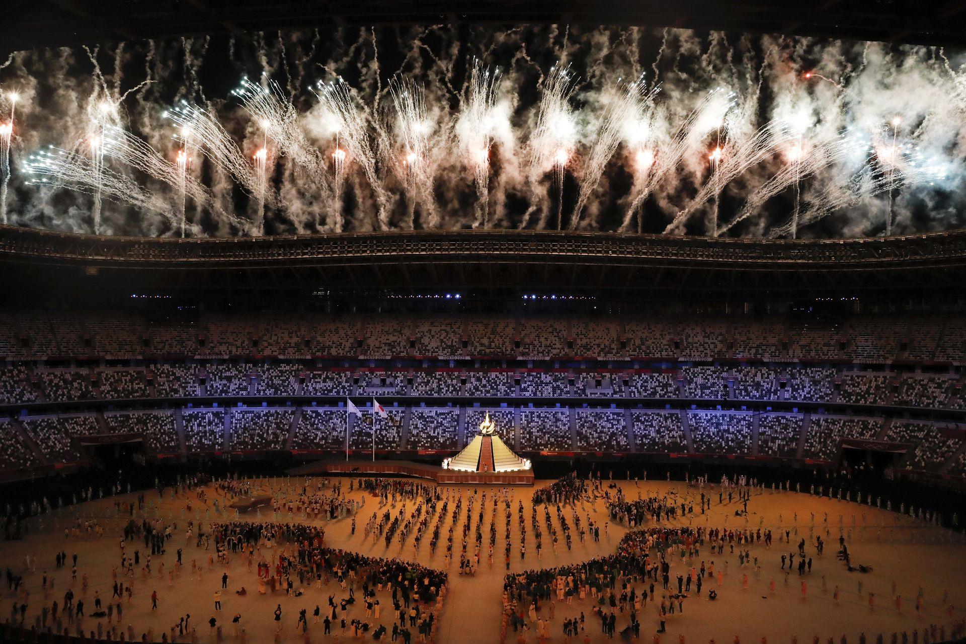 Ceremonia de apertura de los juegos Olímpicos Tokio 2020