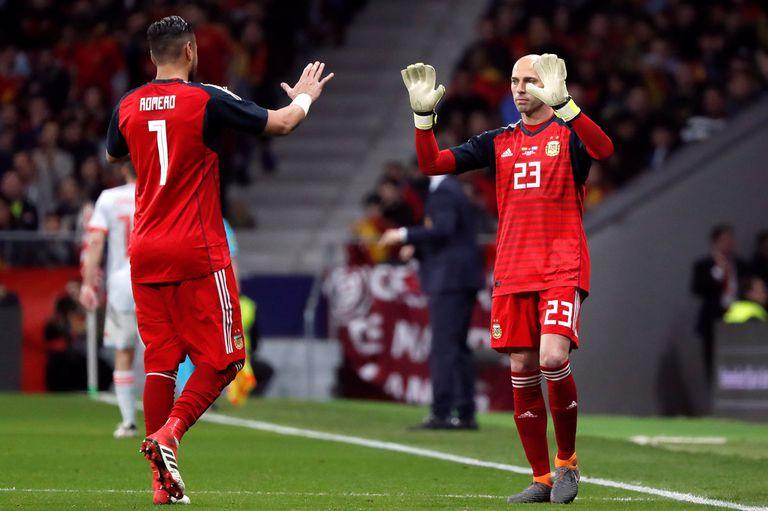 Romero y Caballero, en un cierre a tono con la temporada: en el banco