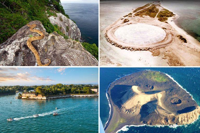 Las islas suelen ser destinos paradisíacos para vacacionar, pero hay algunas a las que está prohibido ingresar por el inminente peligro de vida