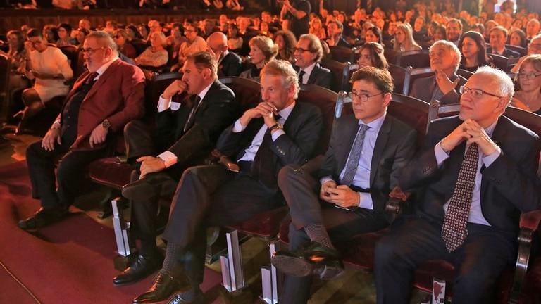 Jorge Fernández Díaz, Jorge Fontevecchia, Marcelo Longobardi, Daniel Hadad y Jorge Lanata