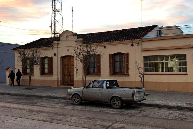 La sede de Corfo en Pedro Luro, al sur de la provincia de Buenos Aires