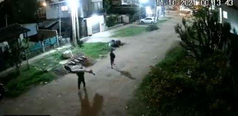 Se robaron un tobogán de una jardín de infantes