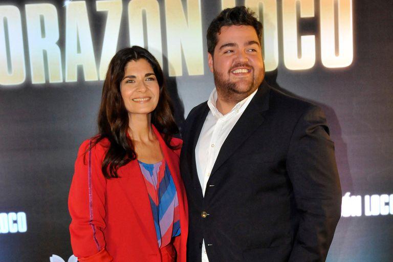 Darío Barassi y Soledad Villamil también sonrieron juntos palpitando el estreno de Corazón Loco