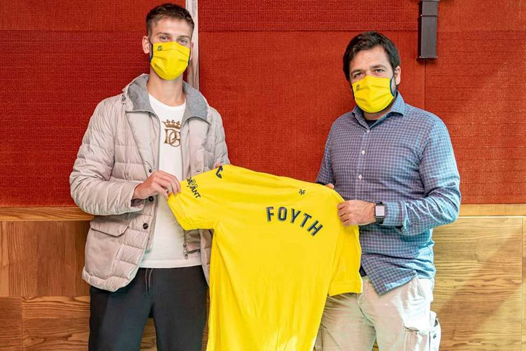 Juan Foyth, presentado en el Villarreal; el defensor tendrá una oportunidad en LaLiga
