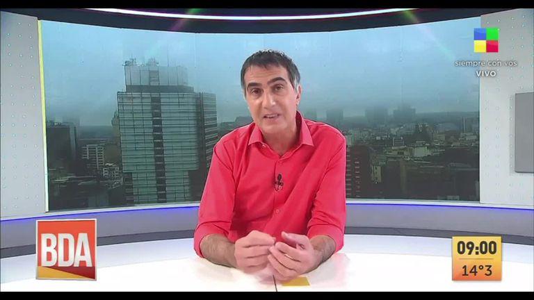 Antonio Laje, al frente de Buenos días, América, logra buen rating para el canal