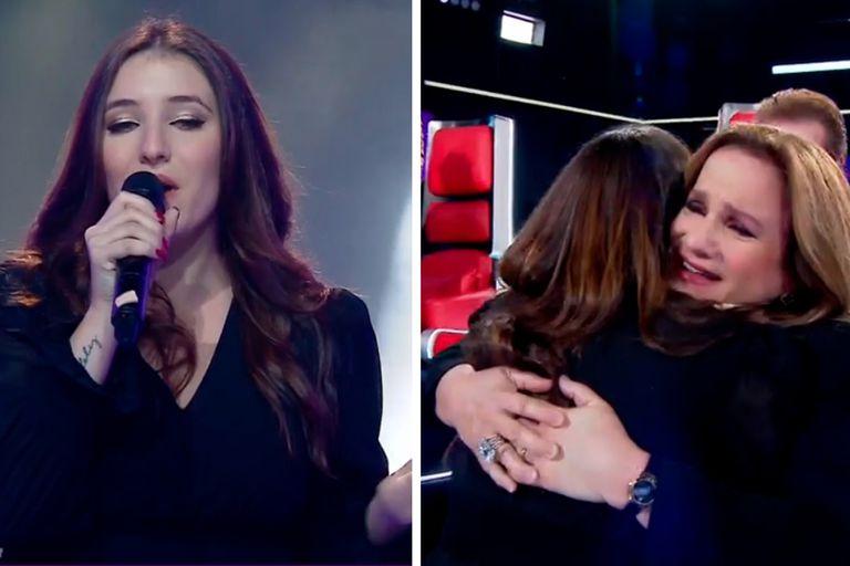 La hija de Lucía Galán hizo llorar a los Pimpinela en La Voz