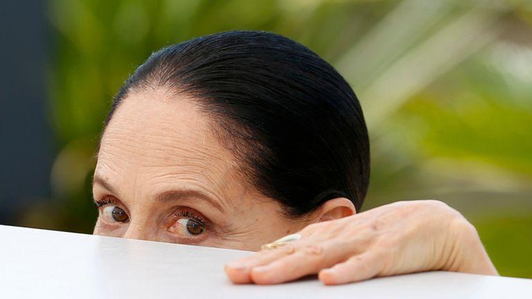Sonia Braga, actriz y defensora de Dilma Rousseff