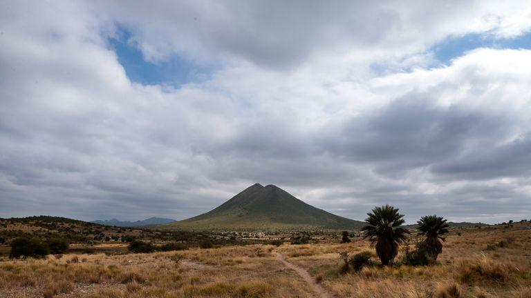 La Ciénaga, con 1600 metros, es el volcán más alto de la zona