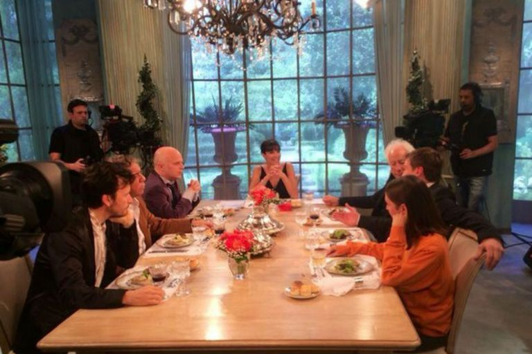 Juana y sus invitados