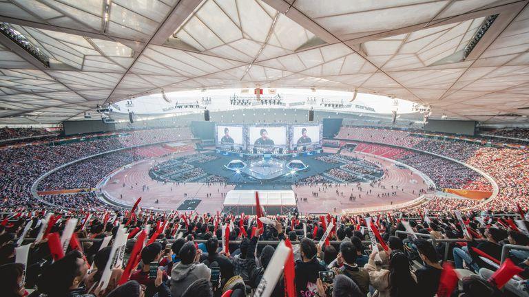 El estadio donde se jugó la final de League Of Legends