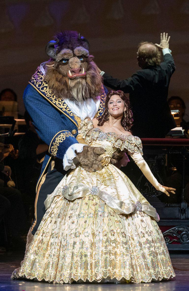 La Bella y la Bestia, presentes en Disney en concierto 2019, sinfonía de películas