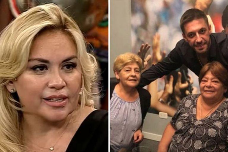 Verónica Ojeda apuntó contra las hermanas de Diego Maradona y mostró un audio que las compromete