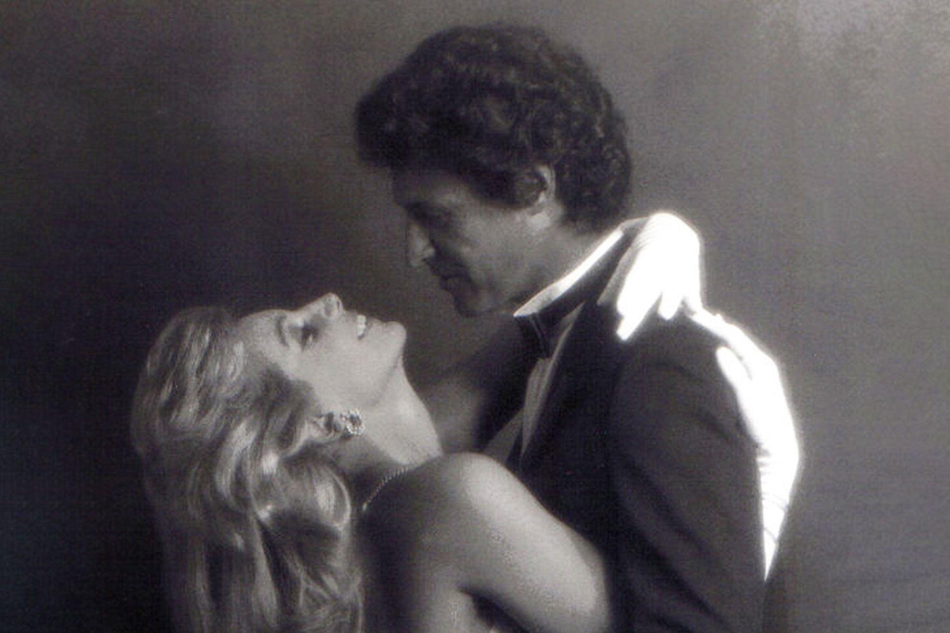 Susana Giménez y Jorge Mayorano, en la foto promocional realizada para el estreno de La mujer del año