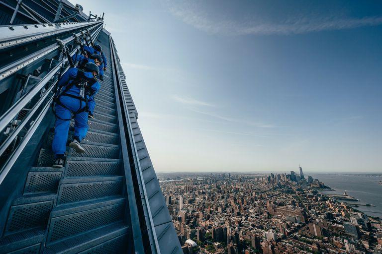 Trepar rascacielos es la nueva atracción en Nueva York, cuánto cuesta