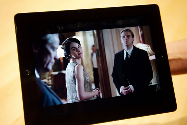 Downton Abbey, una serie que se puede seguir tanto desde la TV como desde un dispositivo móvil
