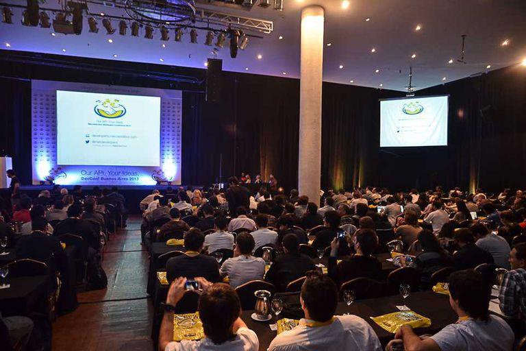 Una vista de la conferencia de desarrolladores de MercadoLibre, que se realizó en Parque Norte