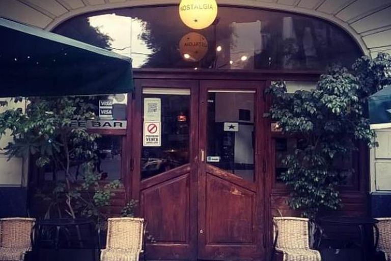 Crisis: Cerró Nostalgia, un bar notable con más de tres décadas en Palermo