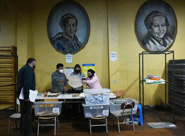 El conteo de lo votos