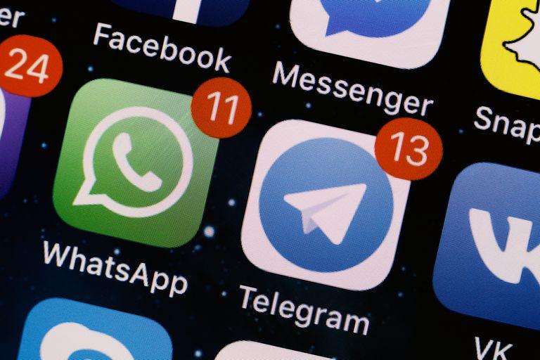 Telegram le pegó duro al chat de Facebook, y WhatsApp le respondió desde su cuenta oficial en Twitter