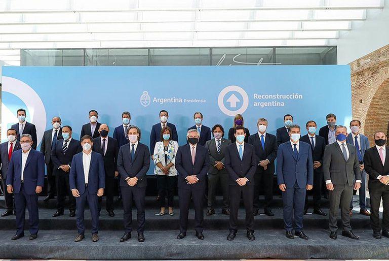 Alberto Fernández y los gobernadores