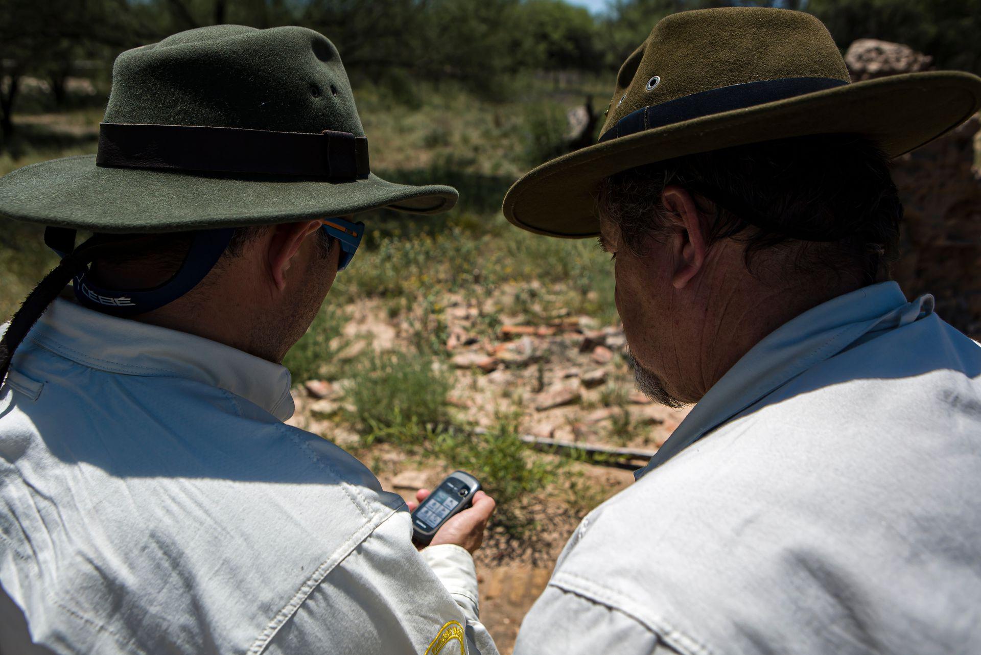 Guardaparques de Traslasierra - Crédito: Administración de Parques Nacionales