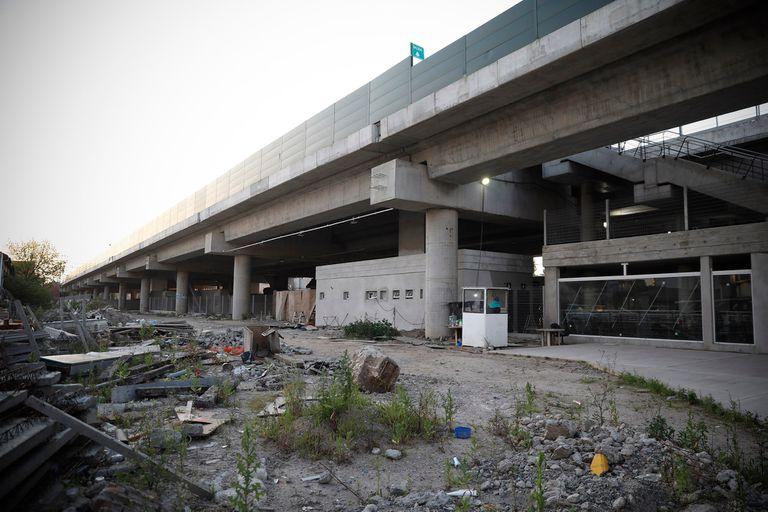 La finalización de una obra del Viaducto San Martín enfrenta a la Ciudad con la Nación