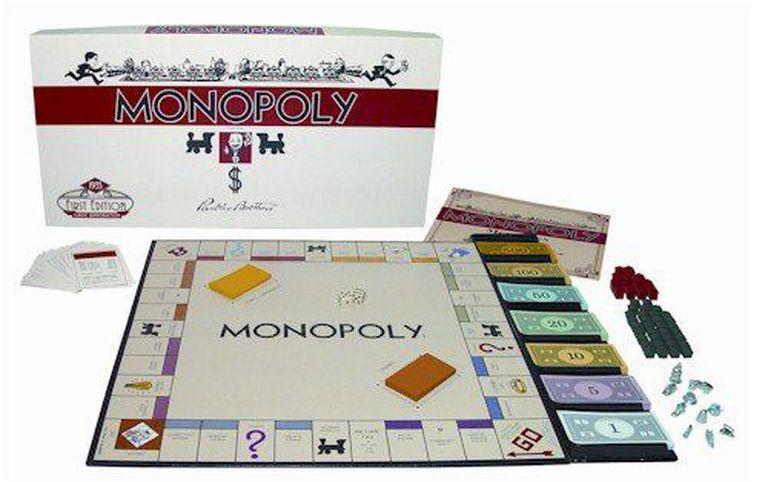 La primera edición del Monopoly se lanzó en 1935.