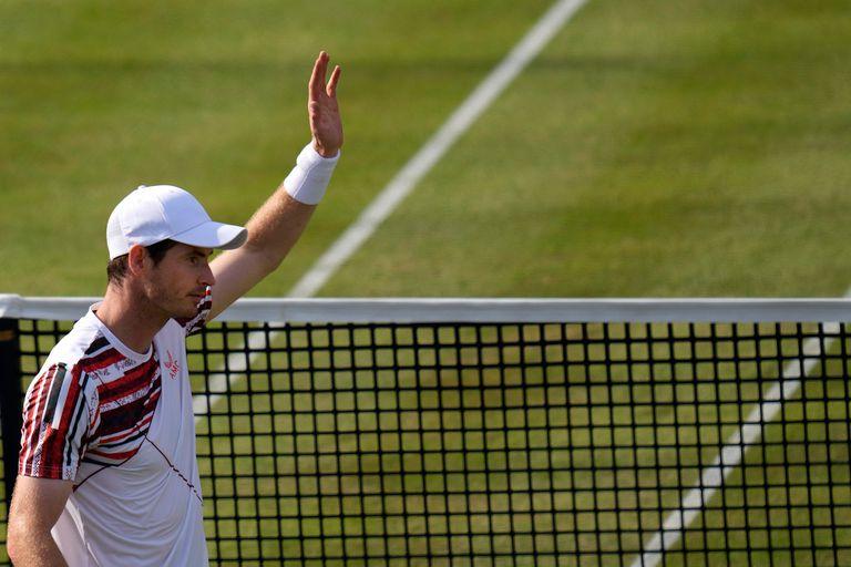 Después de tres años, el escocés volvió a jugar sobre césped y mira hacia Wimbledon