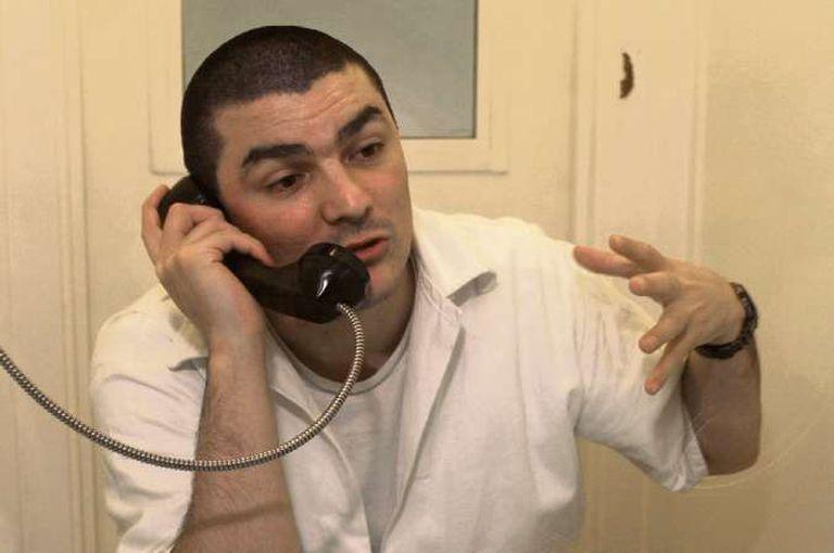 Saldaño no reaccionó a la noticia de que su ejecución está más cercana; siguió hablando de otros temas.