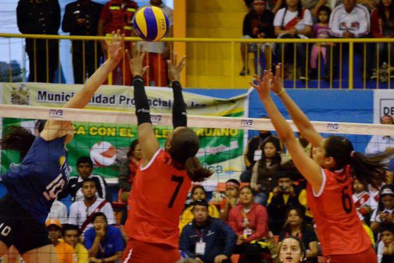 Argentina le ganó a las anfitrionas peruanas
