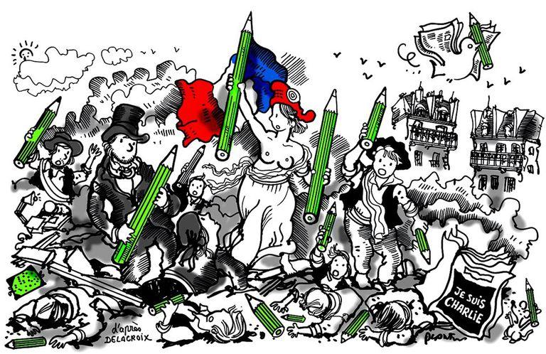 Plantú: el periodista que dibuja, divierte y reflexiona en la tapa de Le Monde