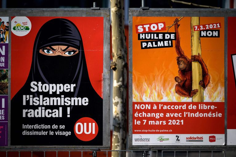 Suiza prohíbe el uso del velo integral islámico en público