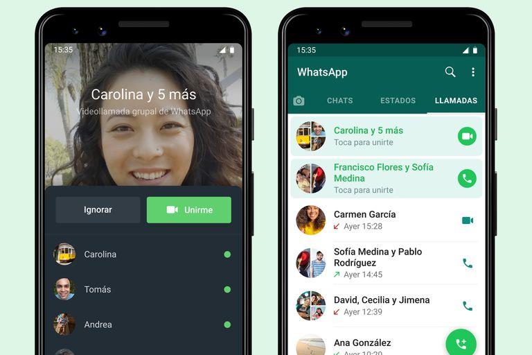 WhatsApp ahora permitirá ver quién está en una llamada grupal antes de unirse
