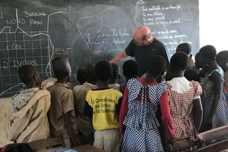 Los Grobocopatel relatan una experiencia en el África profunda