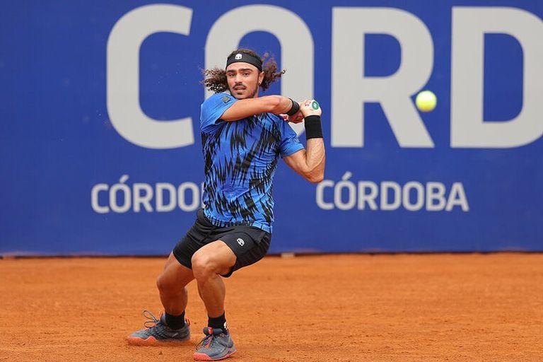 Andrea Collarini, en acción