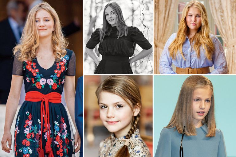 Estas cinco princesas europeas tienen un mismo destino en común: se convertirán en reinas en un futuro no tan lejano