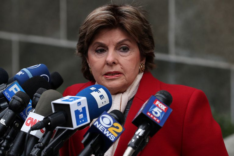 La abogada Gloria Allred representa a muchas de las mujeres que acusan a Harvey Weinstein.