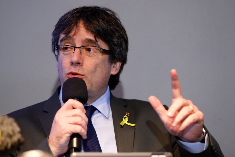 Acusado de sedición, arrestaron en Cerdeña al expresidente catalán Puigdemont