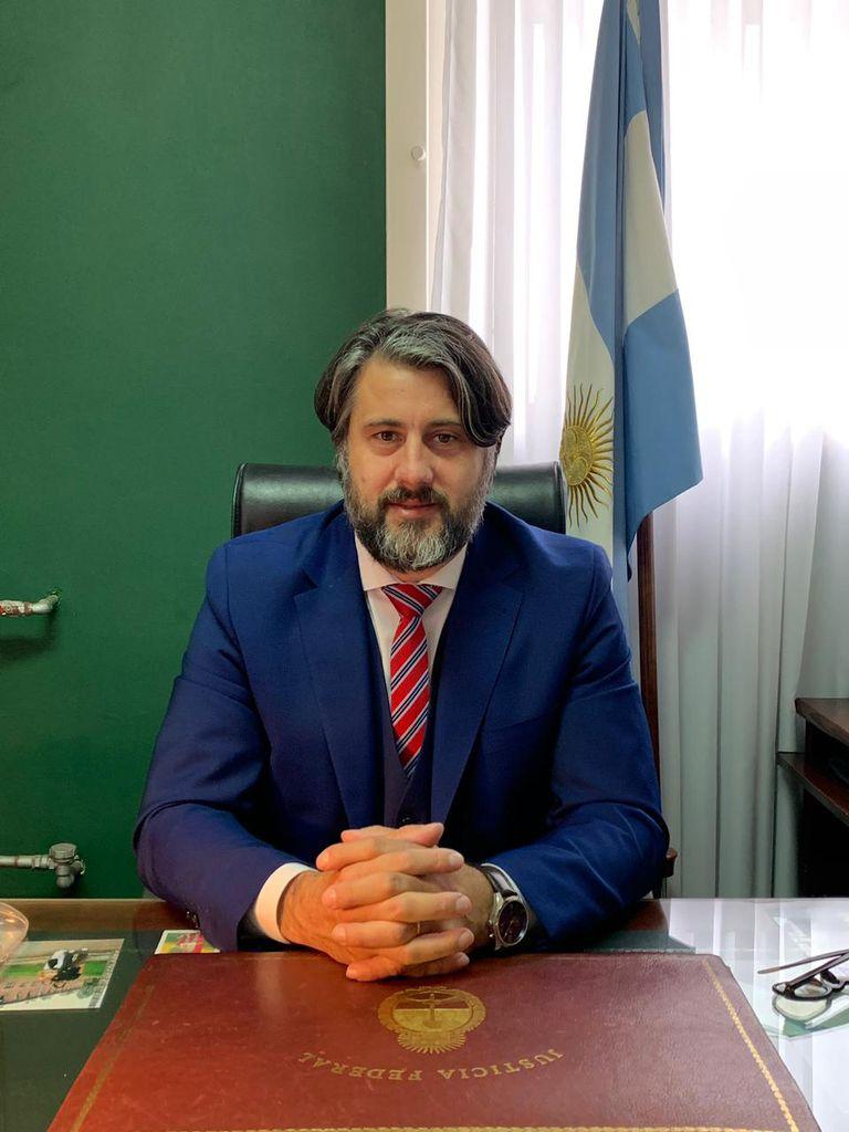 El juez Antonio Michilini