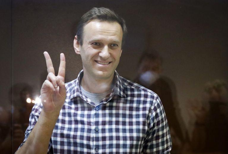 El dirigente opositor ruso Alexei Navalny se encuentra preso por incumplir los términos de su libertad condicional, la cual transitaba por malversación de fondos (AP /Alexander Zemlianichenko)
