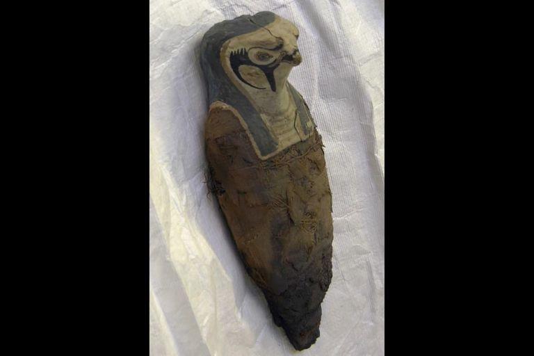 La segunda momia con forma de pájaro que fue estudiada por los investigadores