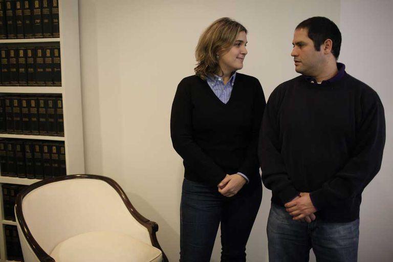 Marcela y Felipe, los hermanos Noble-Herrera