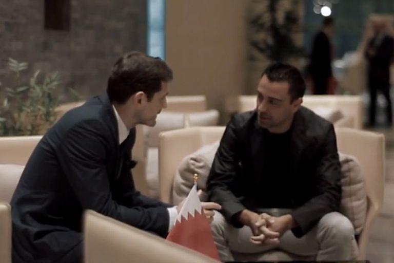 El mensaje que Iker Casillas le envió a Xavi Hernández tras sufrir el infarto