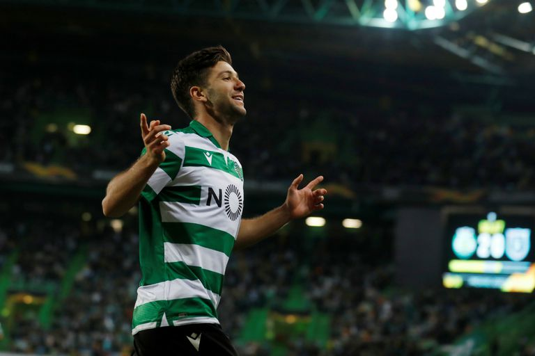 Luciano Vietto marcó para el triunfo de Sporting de Lisboa