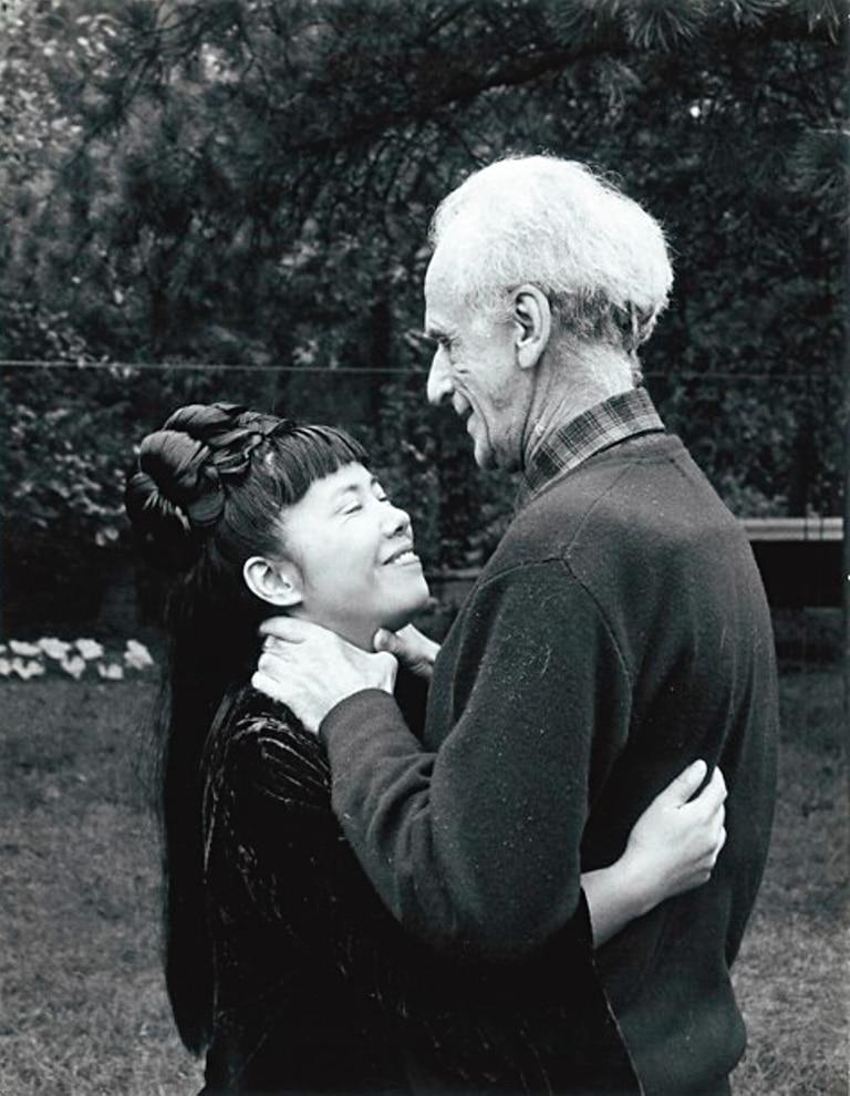 Joseph Cornell fue la única pareja de Yayoi Kusama. (Cortesía de Yayoi Kusama Studio)