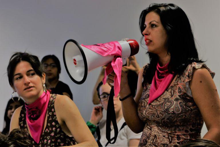 Marina Boldrini, coordinadora regional por Santa Fe de la Campaña por la Emergencia Nacional en Violencia contra las Mujeres.