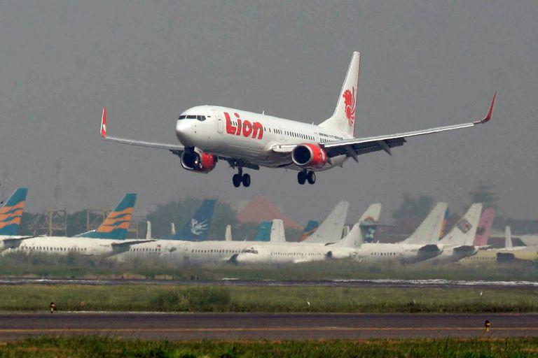 El avión de Lion Air siniestrado en octubre de 2018 frente a la costa de Indonesia quedó totalmente destrozado