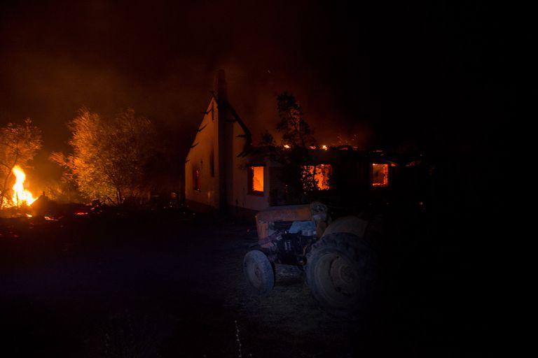 """Fuego en Chubut: """"No faltará mucho para que nos acusen"""", dijo un líder mapuche"""