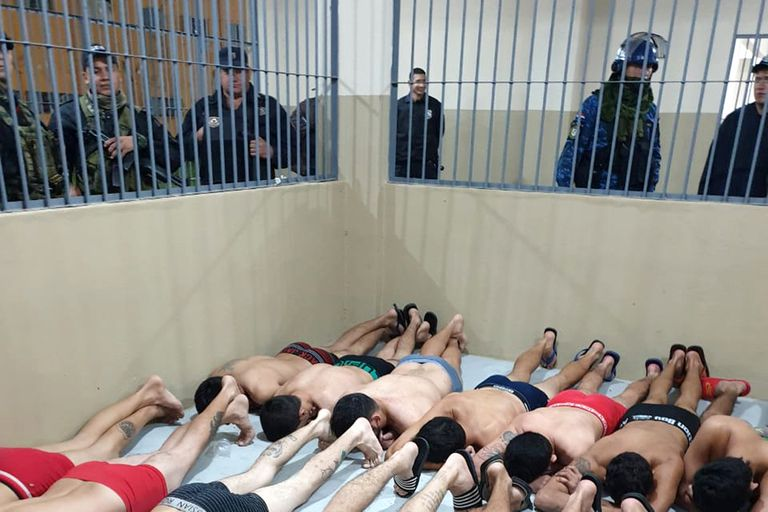 Requisa a integrantes del Primer Comando Capital en una cárcel brasileña