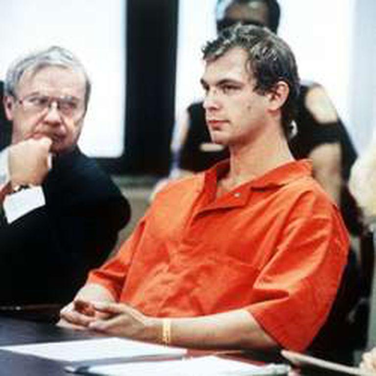 Jeffrey Dahmer mientras era interrogado en 1991